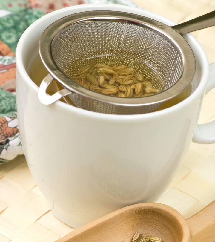 making fennel tea