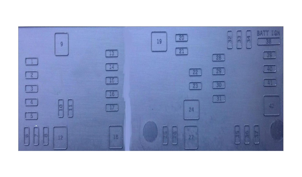 Dodge Ram 2002 2008 3rd Generation Fuse Box Diagrams Dodgeforum Labels Diagram