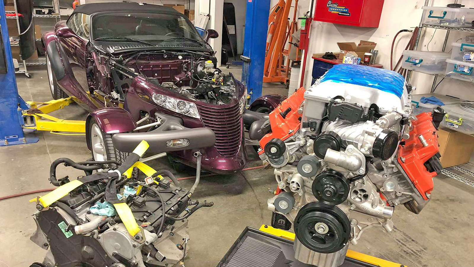 1999 Plymouth Prowler Receives Hellcat Swap