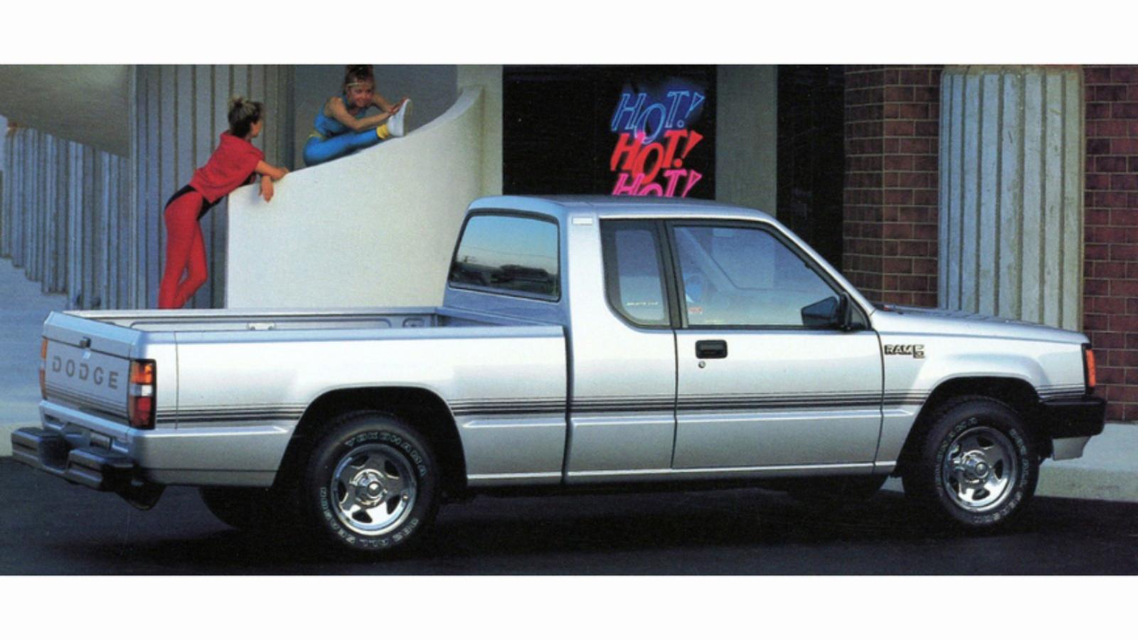 Tiny Trucks: Dodge Rampage, D50, Ram 50 and Power Ram 50
