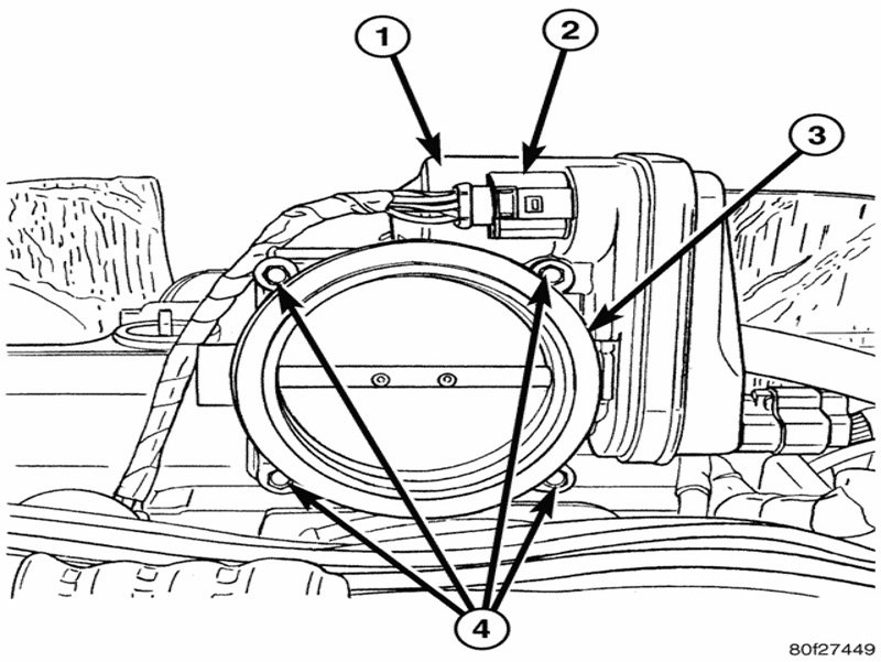 Throttle Body 5 7 Engine Diagram