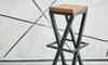 How to Add a Cushion to a Metal Bar Stool