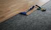 soundproofing underlayment beneath laminate flooring