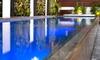 A raised pool.