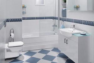 Modern designer bathroom