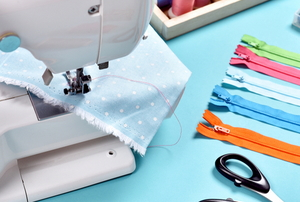 sewing machine and supplies