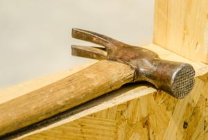hammer and frame