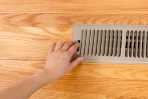 How to Cut Vinyl Plank Flooring around Floor Heat Vents