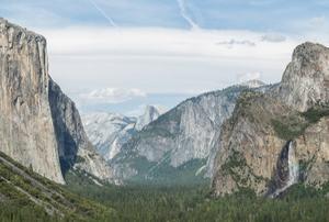 Yosemite valey in Yosemite national park