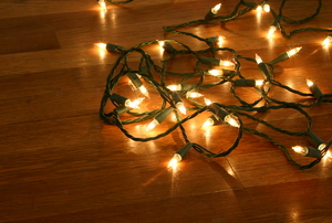 Christmas lights are the most familiar example of a series circuit.