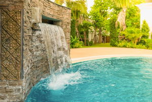 Pool Waterfall Maintenance
