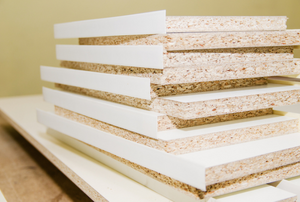 Stack of mdf boards