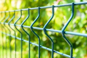 metal mesh garden fence