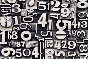 A collection of numbers.