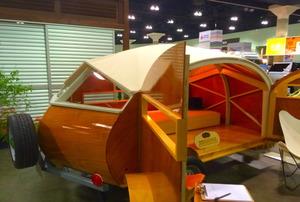 The Hutte Hut camper at Dwell on Design.