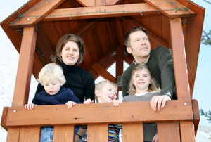 build a tree house with your kids
