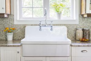 A kitchen sink.