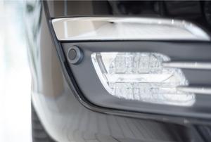 led car fog lights on front bumper