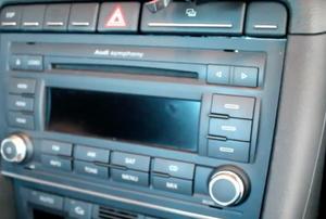 A car stereo speaker.
