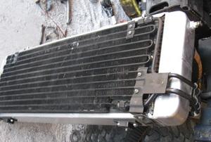An AC condenser.