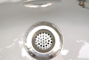 a clean bathtub drain