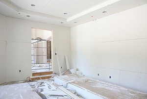 Home Interior Drywall Construction
