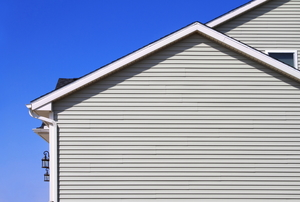 grey siding on a house