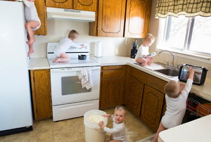 Childproofing the Kitchen