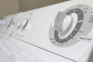 A close up on a dryer.