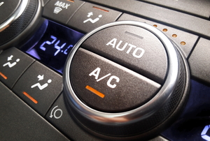 car's AC on/off button