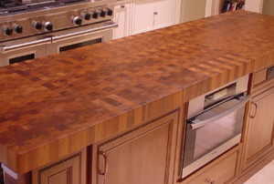 butcher block cutting board kitchen island