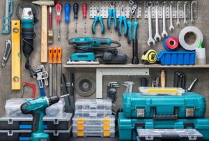 A room of tools.