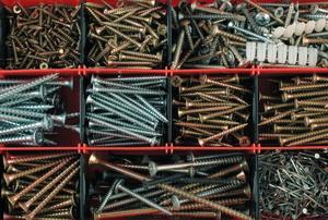 A variety of nails.