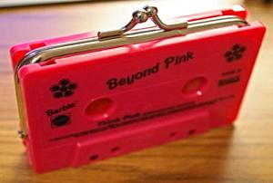 cassette coin purse