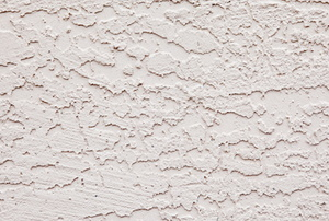 Cream-colored stucco wall