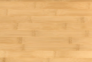 A close-up of natural bamboo flooring.