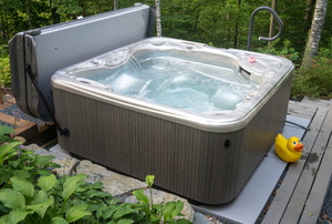 How to Make an Access Panel for a Hot Tub