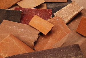 assorted sandpaper sheets
