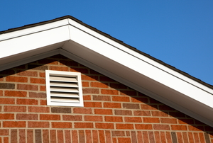 eaves of house with soffit