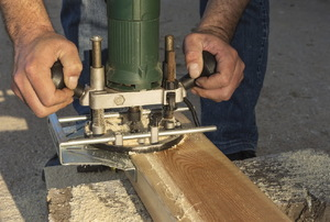 using a trim router