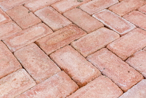 level patio bricks