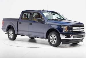a blue truck