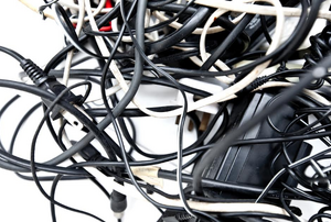 pile of cables and cords