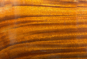wood with lacquer finish
