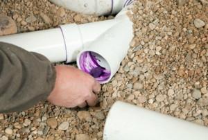 Installing PVC Pipe