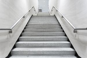 Concrete steps.
