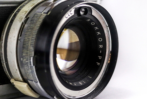 camera body with lenses