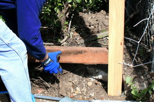 Repairing a Broken Fence Post