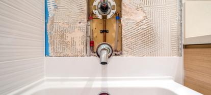 How to install shower plumbing Shower Valve How To Install Showerbathtub Doityourselfcom How To Install Showerbathtub Doityourselfcom