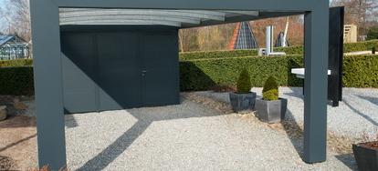 enclosing a carport in six steps